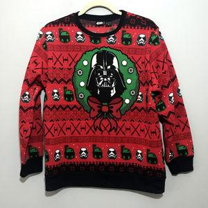 Star Wars Sweater Christmas Women xl dark vader